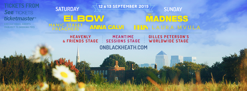 onblackheath line up